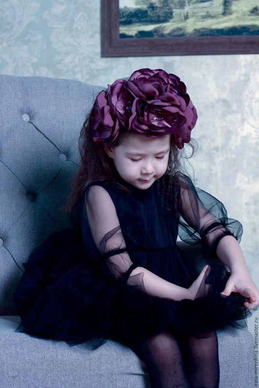 Одежда для девочек, ручной работы. Ярмарка Мастеров - ручная работа. Купить Платье детское.. Handmade. Черный, новая коллекция