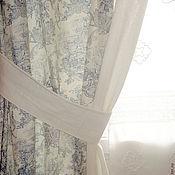"""Для дома и интерьера ручной работы. Ярмарка Мастеров - ручная работа Шторы """"Пастораль"""". Handmade."""