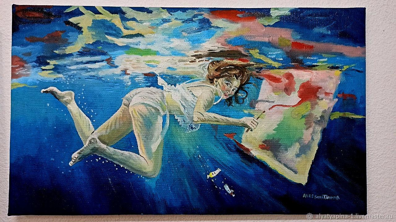 В воде, Картины, Самара,  Фото №1
