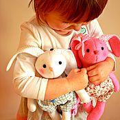 Куклы и игрушки ручной работы. Ярмарка Мастеров - ручная работа Игровые зайки для деток от 1,5 лет.. Handmade.