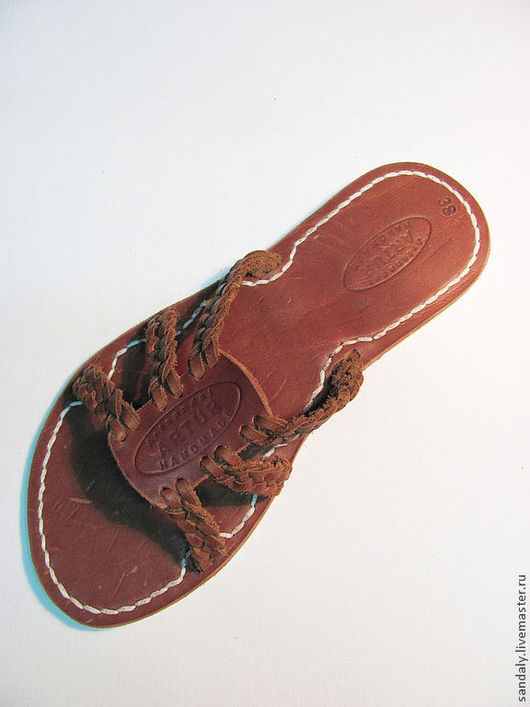 Обувь ручной работы. Ярмарка Мастеров - ручная работа. Купить Греческие сандалии №18. Handmade. Коричневый, летняя обувь