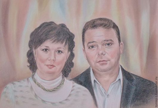 портрет на заказ, пастель\r\nстоимость -5000 руб.