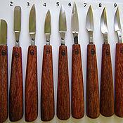 Материалы для творчества ручной работы. Ярмарка Мастеров - ручная работа Нож кованый для резьбы по дереву. Handmade.