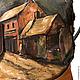 """Женские сумки ручной работы. Заказать Сумка №29 """"Улица в Шату"""". ANTE-KOVAC (ante-kovac). Ярмарка Мастеров."""