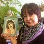 Картины и панно ручной работы. Ярмарка Мастеров - ручная работа Керамический портрет по фотографии. Handmade.
