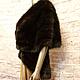 Верхняя одежда ручной работы. Жилет- накидка из соболя. Elena. Ярмарка Мастеров. Мех, скидки акции распродажи, в москве, 2015 год