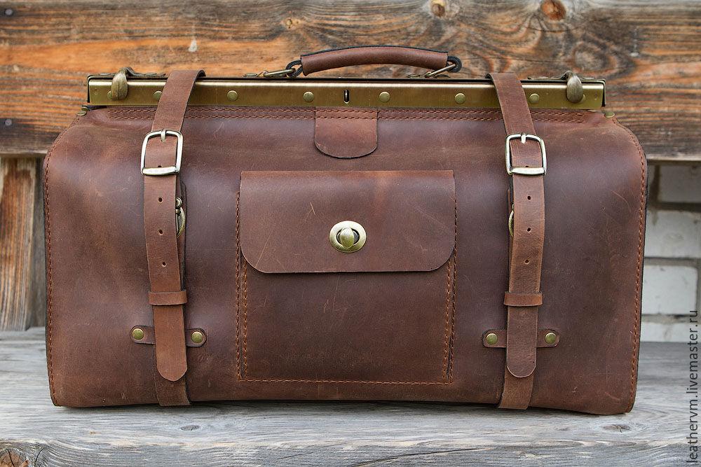 Ручное изготовление кожаных сумок