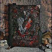 """Блокноты ручной работы. Ярмарка Мастеров - ручная работа блокнот """"ВИКИНГИ"""". Handmade."""