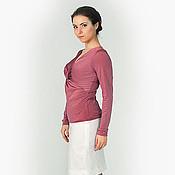 Одежда handmade. Livemaster - original item Knitted blouson 005.. Handmade.