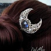 Украшения handmade. Livemaster - original item Hairpin with labradorite stone