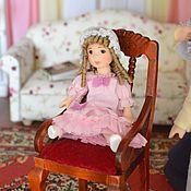 Куклы и игрушки ручной работы. Ярмарка Мастеров - ручная работа Кукла миниатюрная  6 см.. Handmade.