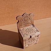 Для дома и интерьера ручной работы. Ярмарка Мастеров - ручная работа деревянная солоница. Handmade.