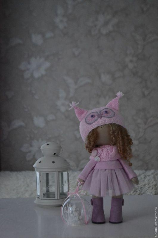 Коллекционные куклы ручной работы. Ярмарка Мастеров - ручная работа. Купить Куколка текстильная.. Handmade. Колекционная кукла, кукла в подарок