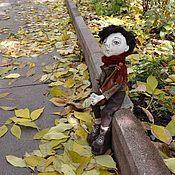 Куклы и игрушки ручной работы. Ярмарка Мастеров - ручная работа мелодия опавших листьев. Handmade.