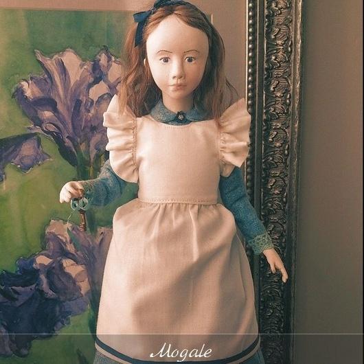 Авторская коллекционная кукла `Алиса в стране чудес` в погоне за белым кроликом. Единственный экземпляр
