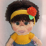 Куклы и игрушки ручной работы. Ярмарка Мастеров - ручная работа Малышка Молли. Handmade.