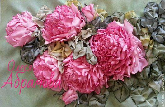 """Картины цветов ручной работы. Ярмарка Мастеров - ручная работа. Купить Картина """"Розовый вечер"""". Handmade. Розовый, картина маслом"""