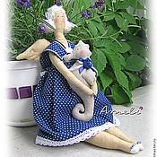 """Куклы и игрушки ручной работы. Ярмарка Мастеров - ручная работа Текстильная кукла """"Морячка Мэри"""". Handmade."""