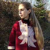 """Одежда ручной работы. Ярмарка Мастеров - ручная работа Демисезонное пальто """"Северное цветение"""". Handmade."""