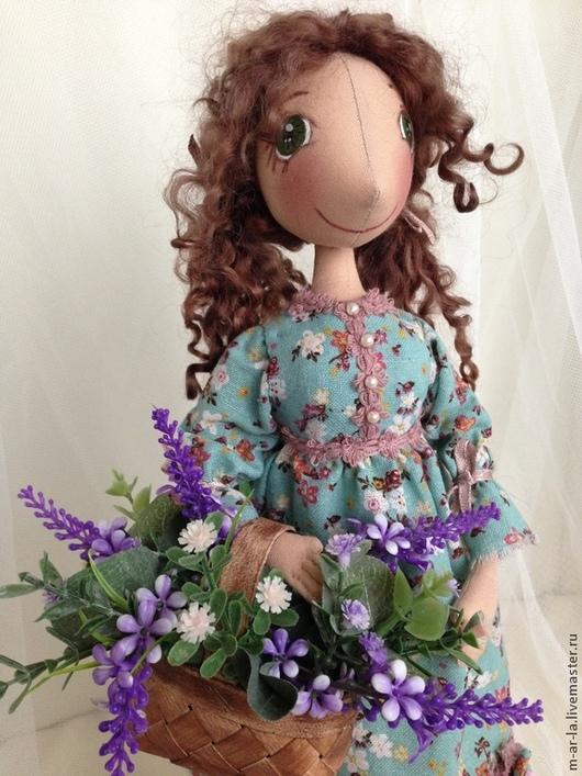 Коллекционные куклы ручной работы. Ярмарка Мастеров - ручная работа. Купить В стиле прованс.... Handmade. Тёмно-бирюзовый, прованс