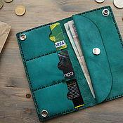 Wallets handmade. Livemaster - original item Wallet genuine leather. Handmade.