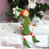Подарки к праздникам ручной работы. Ярмарка Мастеров - ручная работа Ёлочка, интерьерная кукла, новогодние игрушки, подарки на новый год. Handmade.