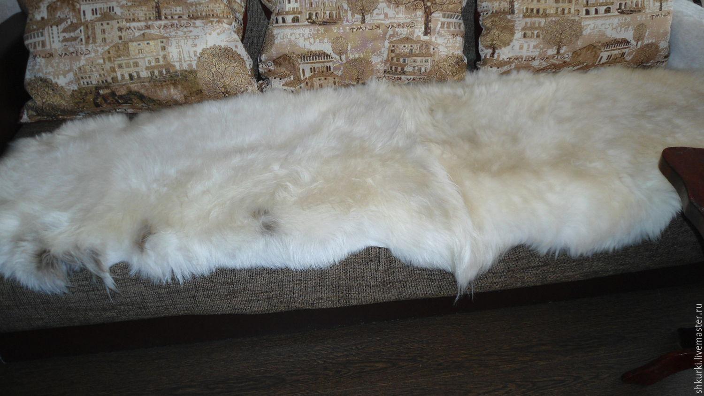 Текстиль, ковры ручной работы. Ярмарка Мастеров - ручная работа. Купить Меховой плед (ковер, покрывало). Handmade. Покрывало