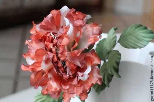 """Цветы ручной работы. Ярмарка Мастеров - ручная работа. Купить Роза """" Фея"""". Handmade. Шелк, интерьерная роза, букет"""