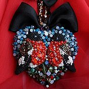 Украшения handmade. Livemaster - original item the necklace Flew away but promised to return in Winter 2015. Handmade.