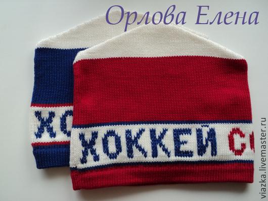 Шапка-петушок, спортивная шапка, вязаная шапка, шапка для спорта, ручная работа, Орлова Елена