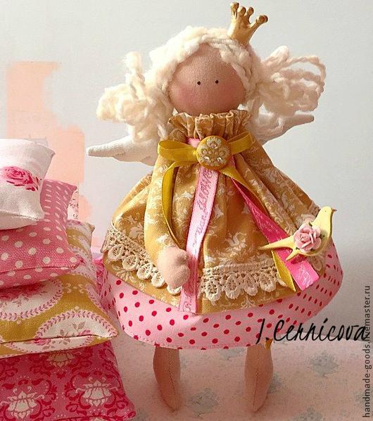 Куклы Тильды ручной работы. Ярмарка Мастеров - ручная работа. Купить принцесса на горошине. Handmade. Розовый, Принцесса на горошине, тильда