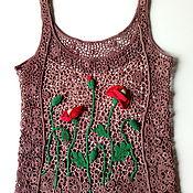 Одежда ручной работы. Ярмарка Мастеров - ручная работа Топ Poppy-flower. Handmade.