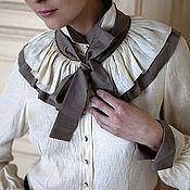 """Блузки ручной работы. Ярмарка Мастеров - ручная работа Блузка """"Козырная Дама"""". Handmade."""