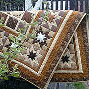 Для дома и интерьера ручной работы. Ярмарка Мастеров - ручная работа Лоскутное покрывало Монплезир пэчворк. Handmade.