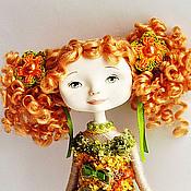 Куклы и игрушки ручной работы. Ярмарка Мастеров - ручная работа Сувенирная кукла Солнечный зайчик. Handmade.
