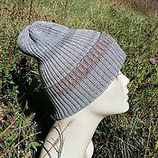 Аксессуары handmade. Livemaster - original item Woolen hat, Merino wool pumpkin, knitted hat. Handmade.