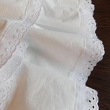 Одежда ручной работы. Ярмарка Мастеров - ручная работа Нижняя длинная юбка отделанная шитьем. Handmade.