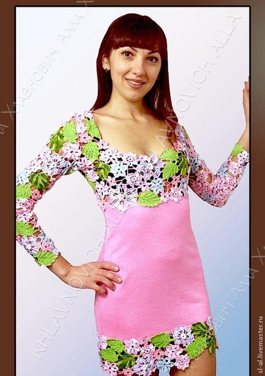 """Платья ручной работы. Ярмарка Мастеров - ручная работа. Купить Платье """"Весенняя нежность"""" мод.№102. Handmade. Платье"""