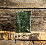 Обложки ручной работы. Ярмарка Мастеров - ручная работа Обложка на паспорт из сыромятной кожи. Handmade.