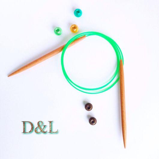 Вязание ручной работы. Ярмарка Мастеров - ручная работа. Купить Спицы круговые для вязания 8 мм. Handmade. Спицы, спицами
