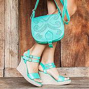 Обувь ручной работы handmade. Livemaster - original item Women`s leather shoes Odri. Handmade.
