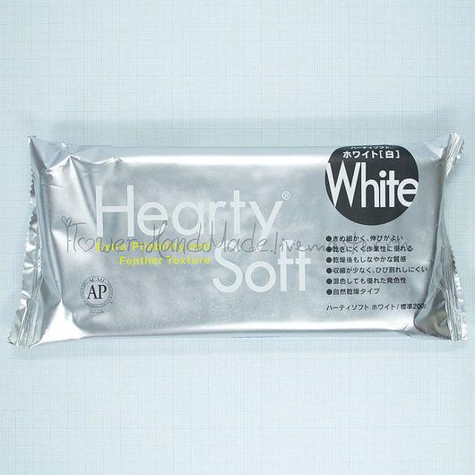 Другие виды рукоделия ручной работы. Ярмарка Мастеров - ручная работа. Купить Hearty Soft (Харти Софт) - Японская самозатвердевающая глина. Handmade.