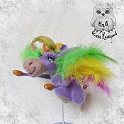 Куклы и игрушки ручной работы. Ярмарка Мастеров - ручная работа Радужный Пегаслик. Handmade.