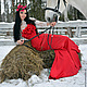 Платья ручной работы. Аленький Цветочек - платье с корсетом. Ксения Jesofa (jesofa-corset). Интернет-магазин Ярмарка Мастеров. Однотонный