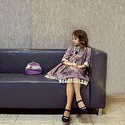 Работы для детей, ручной работы. Ярмарка Мастеров - ручная работа Платье из коллекции. Handmade.