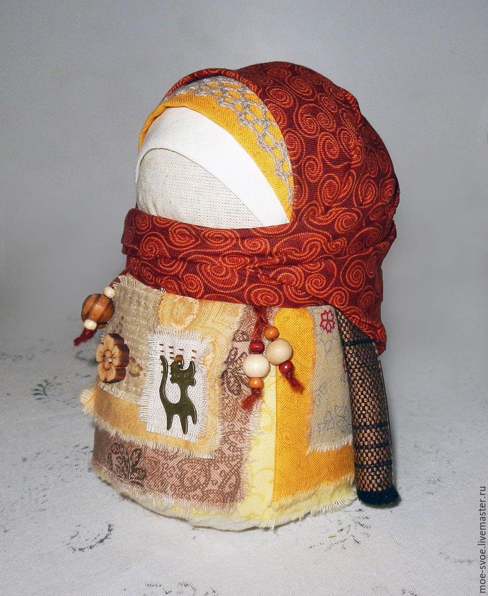 Кукла-оберег зерновушка мастер-класс