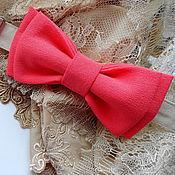 Аксессуары handmade. Livemaster - original item Tie angelina coral. Handmade.