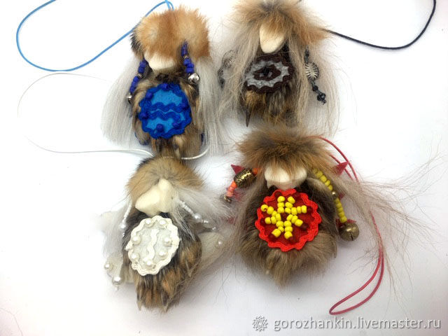 Spirits-elements paw foxes bone ROE deer, Helper spirit, Moscow,  Фото №1