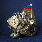 Куклы и игрушки ручной работы. Ярмарка Мастеров - ручная работа Нил Тарасович Медузин - страстный энтузиаст подводного плавания.. Handmade.
