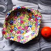 Орешница, конфетница Royal Winton, Англия, ситцевый дизайн Royalty